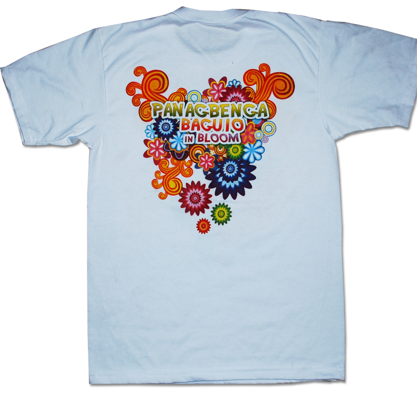 Panagbenga big for T shirt printing website
